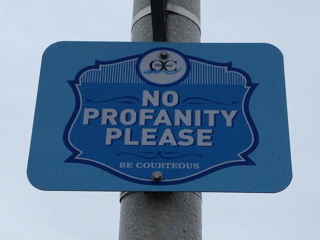 Christians & Profanity